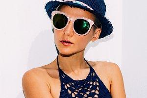 Boho Style Relax girl