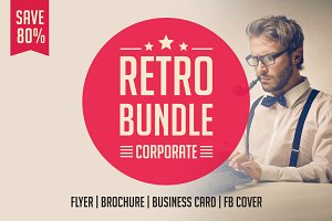 Retro Brochure Bundle