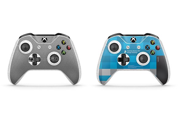 xbox one s controller skin muckup product mockups creative market