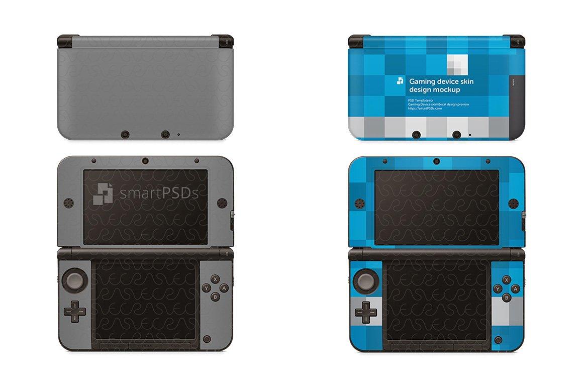 Nintendo 3DS XL Skin Mockup ~ Product Mockups ~ Creative Market