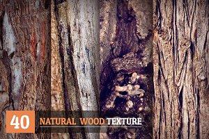 40 Natural Wood Textures
