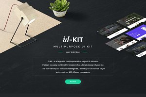 ID-Kit Multipurpose UI Kit
