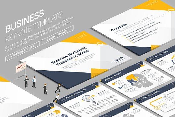 Business Keynote Template vol.11