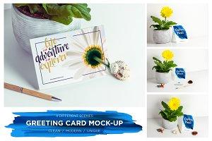 Greeting Card / Invitation Mock-up
