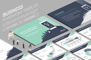 Business Powerpoint Template vol.12