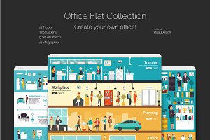 Office Flat Collection