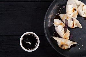 Japanese dumplings gyoza