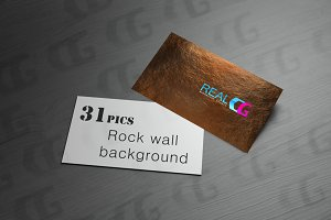 Rock wall background image