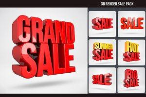 3D Render Sale Pack