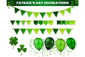 Saint Patrick's Day Decorations Set