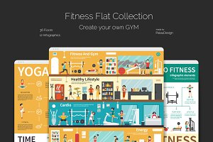 Fitness Flat Collection
