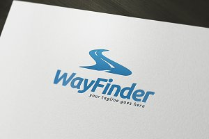 Way Finder Logo Template