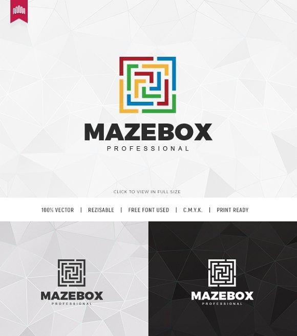 Maze Box Logo