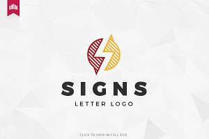 Signs - Letter S Logo