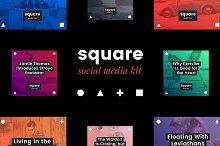 Square Social Media Kit