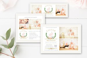 Easter Mini Session Template Set