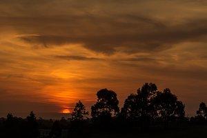 Dramatic Australian Sunset