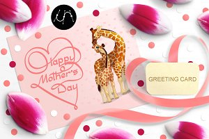 ♥ Mother's Day Card + logo