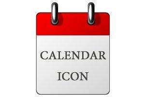 Paper calendar icon