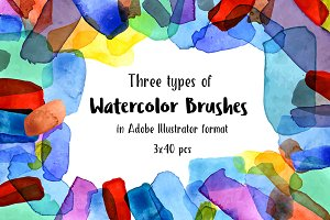№237 Watercolor Brushes 1