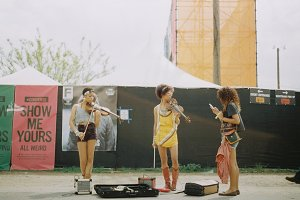 Music Festival, Black Musicians