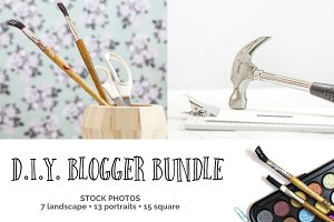DIY Blogger Bundle (15+ Images)