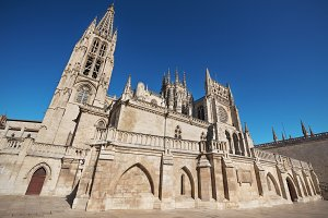 Burgos gothic cathedral