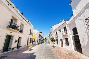village of Nerja, Malaga, Spain.
