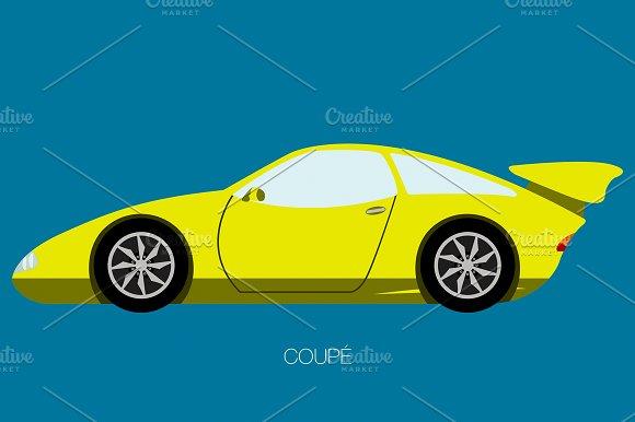 Race Car Side View
