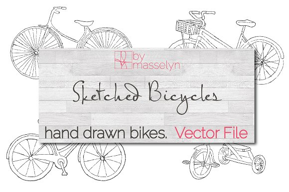 Sketched Bicycles