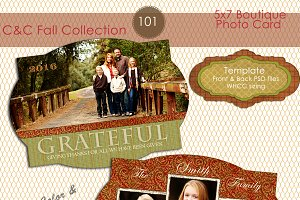 C&C Fall Photo Card Selection #101