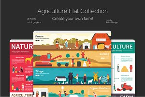 Agriculture Flat Collection