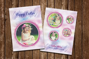 Easter Photo Card-V510