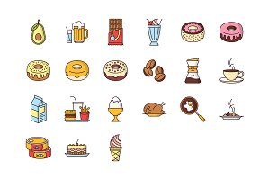 21 Food & Drink Icons