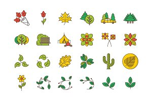 35 Nature & Outdoors Icons