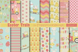 Easter train papers