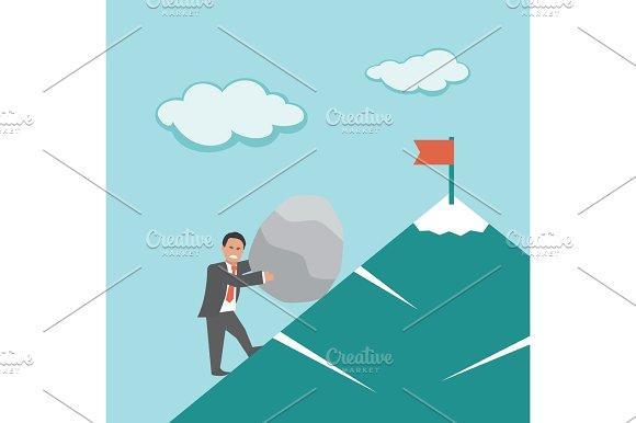 Effort. Business concept.