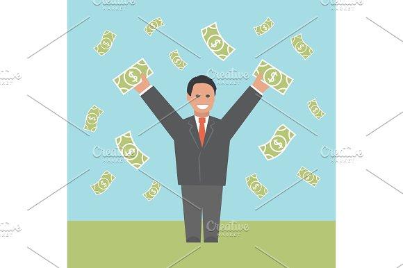 Profit. Concept business illustration.