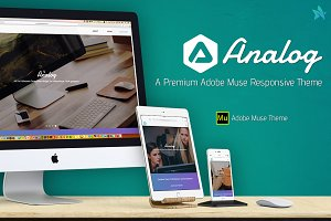 Analog - Responsive Adobe Muse Theme