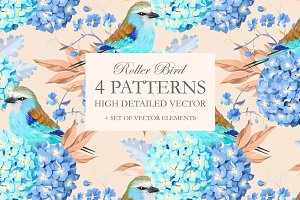 Roller Bird Patterns