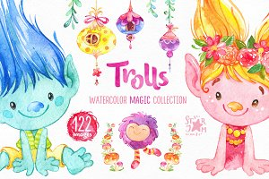 Trolls. Magic Collection