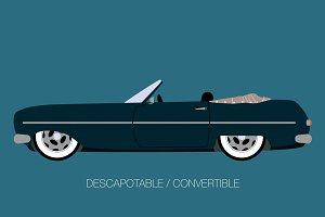 convertible classic car
