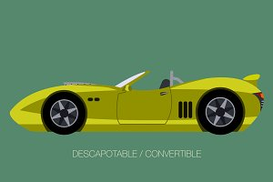 convertible super car