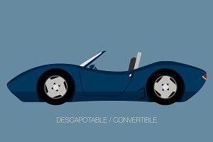 sport convertible car