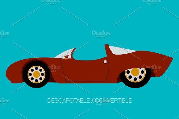 Super Car Convertible Icon