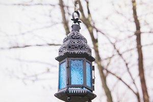 Blue Lantern / Stock Photo