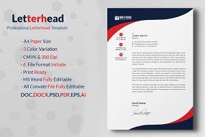 Premium Corporate Letterhead