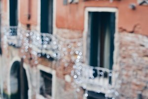 Venice bokeh lights