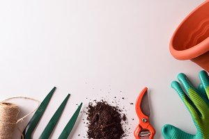 Gardening tools composition