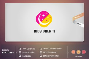 Kids Dream - Logo Template